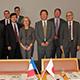 ジュヌヴィエーヴ・フィオラゾ フランス高等教育研究大臣がNIMSを訪問
