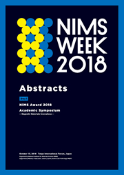 NIMS WEEK 2018 [Day 1] Abstract